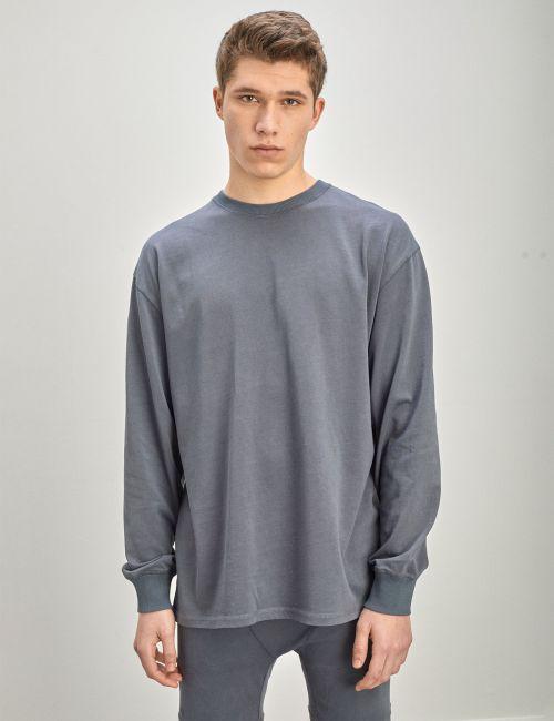 חולצת טי אוברסייז ארוכה