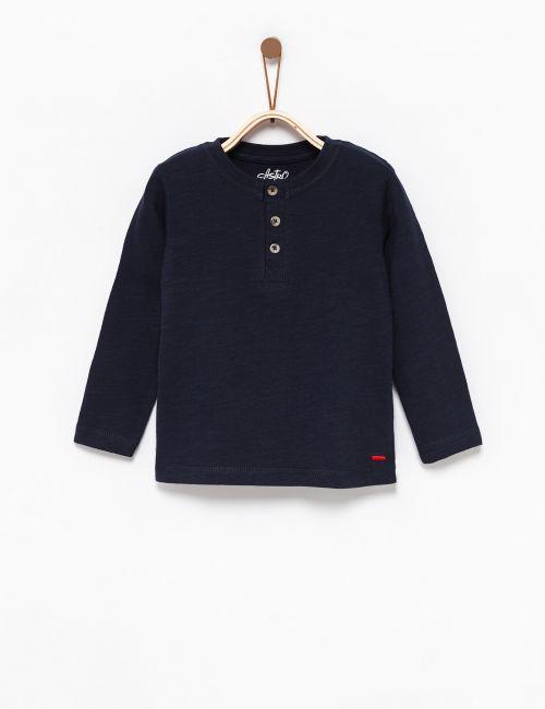 חולצת סלאב עם כפתורים