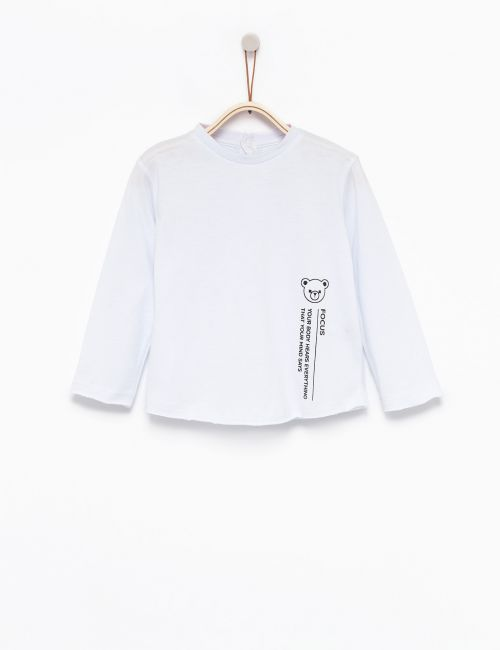 חולצת טי מודפסת