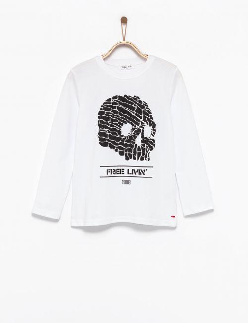 חולצת טי גולגולת