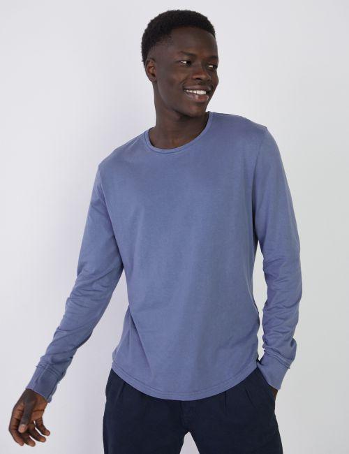 חולצת טי במראה מכובס