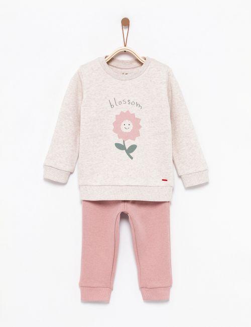 חליפת גן פרח