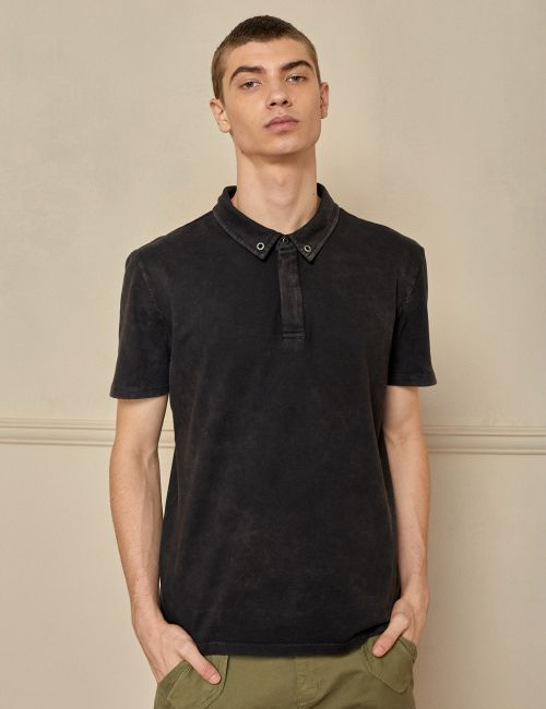 חולצת פולו ווש