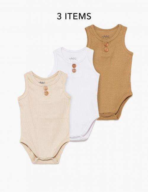 מארז 3 בגדי גוף ריב