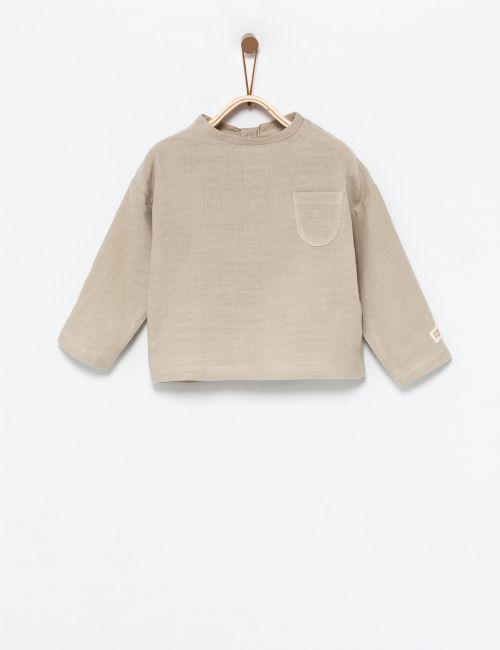 חולצת טטרה עם כיס