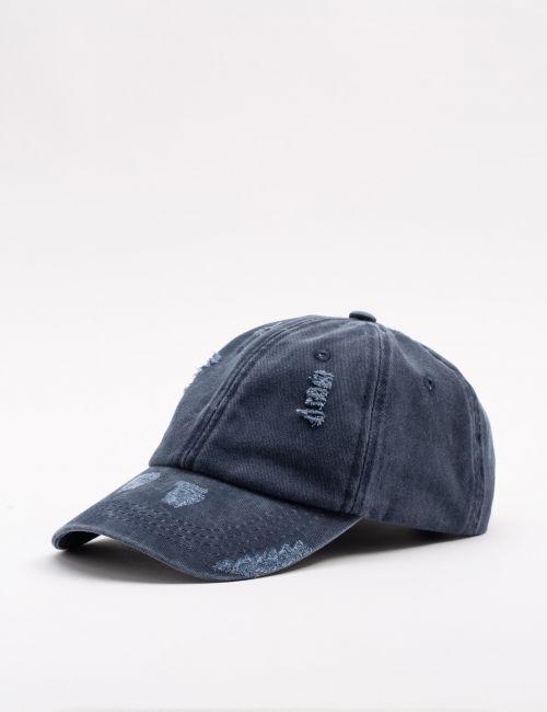 כובע מצחיה במראה מכובס