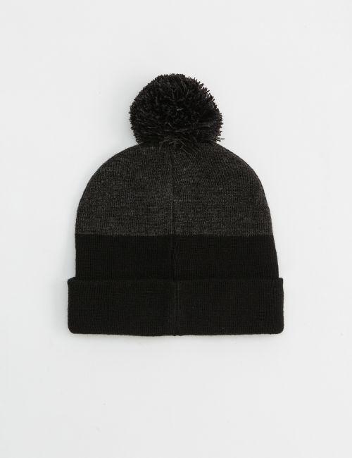 כובע צמר קולור בלוק
