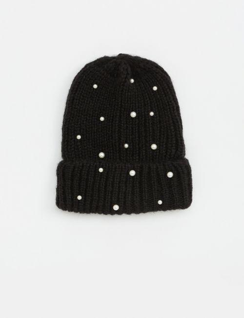 כובע צמר פנינים
