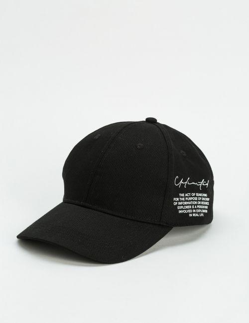 כובע מצחייה עם טקסט