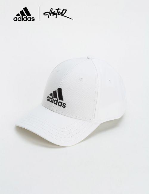 כובע מצחייה Adidas לבן