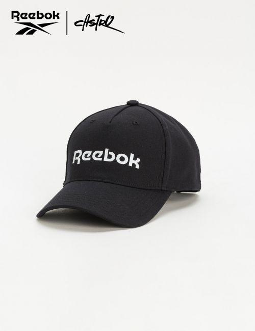 כובע מצחייה Reebok בצבע שחור