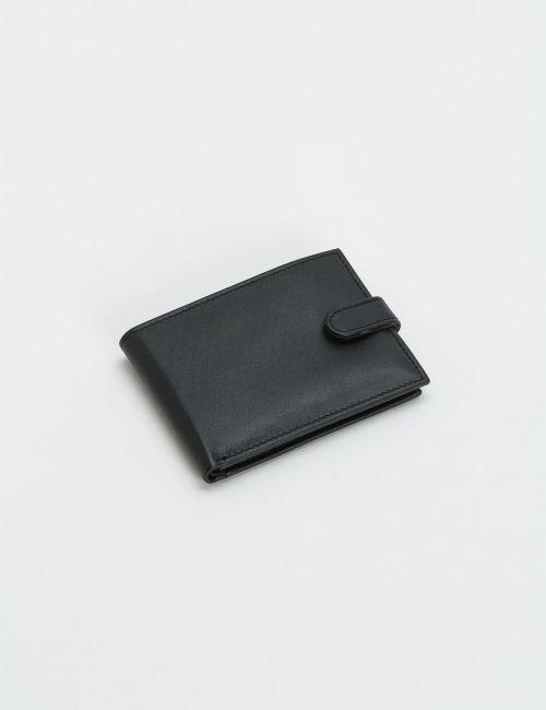 ארנק עור שחור