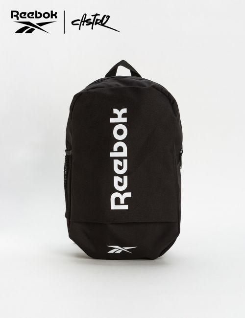 תיק גב שחור עם לוגו Reebok