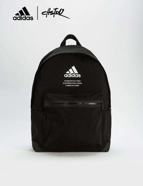 תיק גב Adidas שחור עם כיתוב
