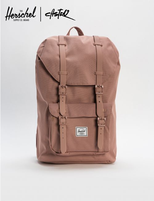 תיק גב HERSCHEL LITTLE AMERICA MID-VOLUME ASH ROSE