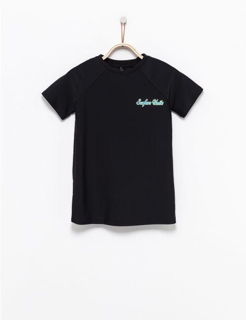 חולצת טי בגד ים בהדפס גלישה