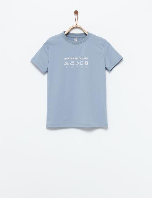 חולצת בגד ים אייקונים כביסה