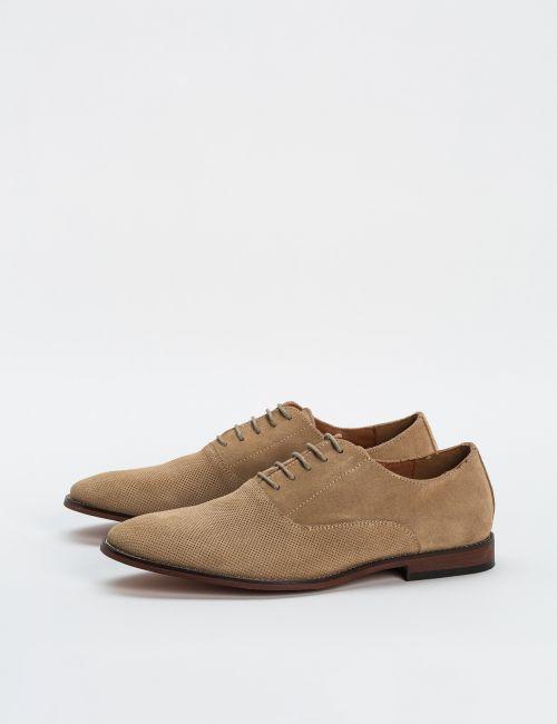 נעלי זמש עם שרוכים