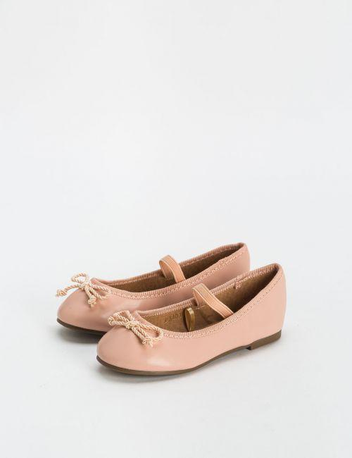 נעלי בלרינה עם פפיון