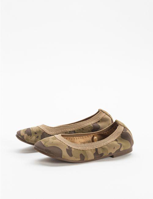 נעלי בלרינה בצבעי קומופלאז'