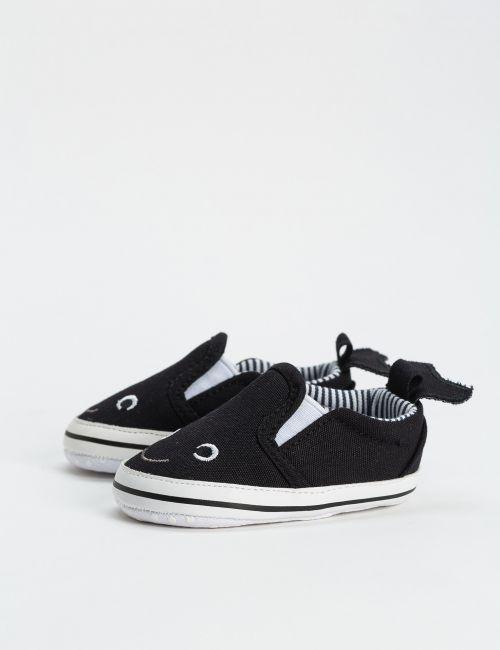 נעלי בד פסים - דג