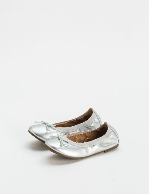 נעלי בלרינה כסופות