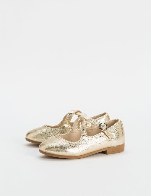נעלי בובה עם רצועות