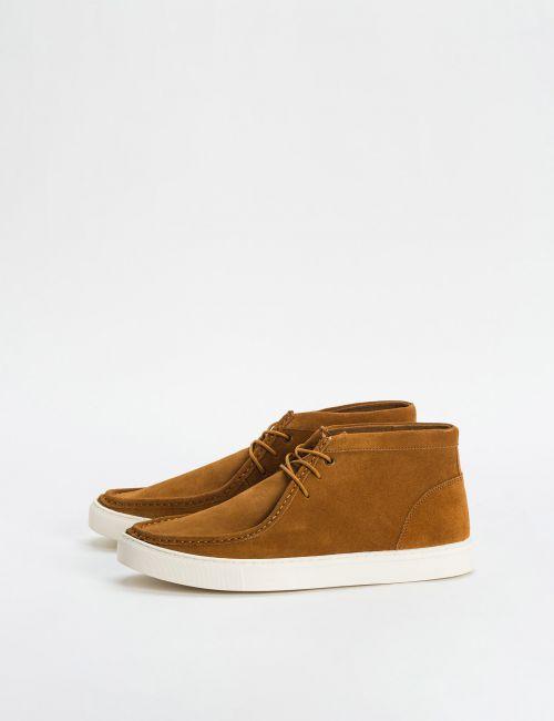 נעלי מגפונים זמש