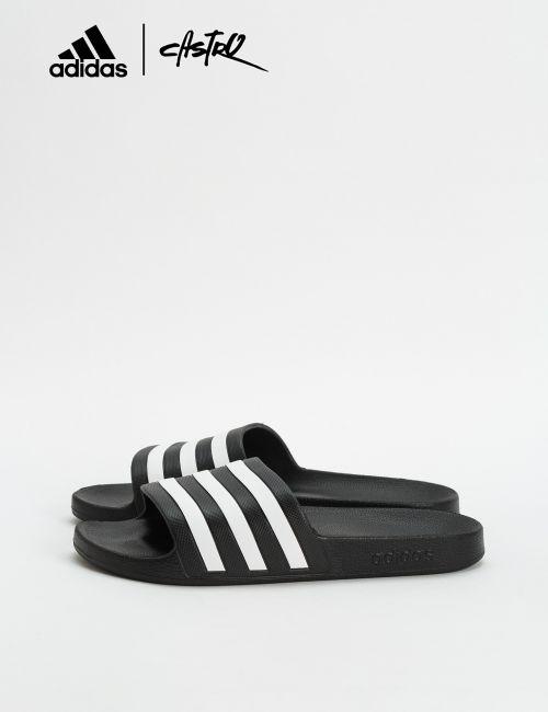 כפכפי Adidas פסים בצבע שחור / גברים