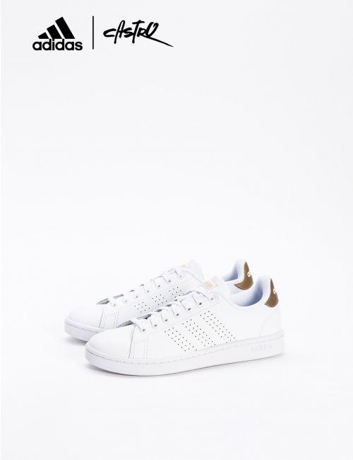 נעלי ADIDAS לבן וזהב/ נשים