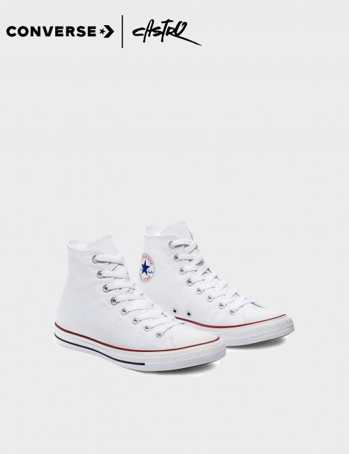 נעלי Converse גבוהות לבנות / יוניסקס
