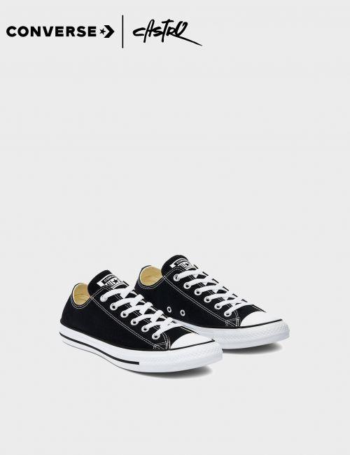 נעלי Converse שחור ולבן קלאסיות / יוניסקס