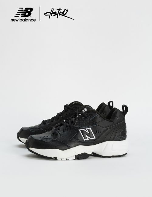נעלי New Balance מדגם MX608 צ'אנקי שחורות / נשים