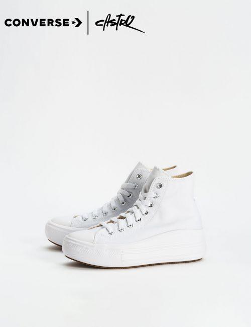 נעלי Converse לבנות עם סוליה גבוהה/ נשים