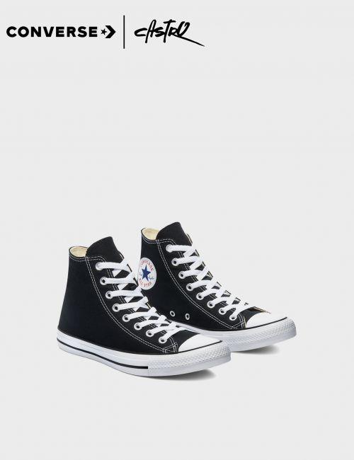 נעלי Converse גבוהות שחור ולבן / נשים