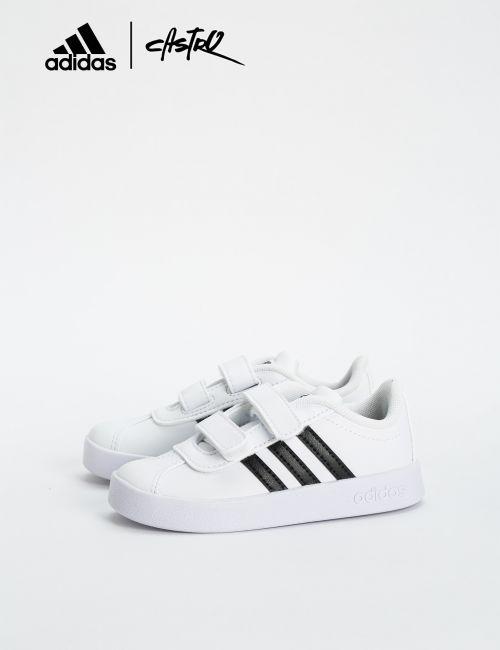 נעלי Adidas לבן ושחור - מידות קטנות