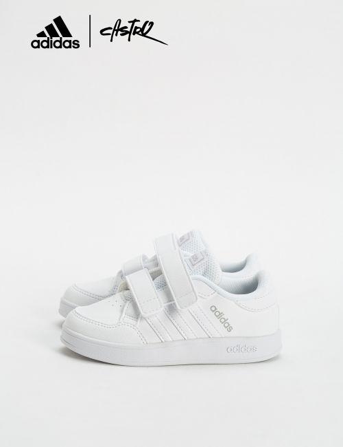 נעלי Adidas לבנות עם סקוצ'ים - מידות קטנות