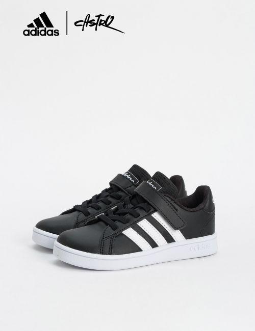 נעלי Adidas שחור ולבן / ילדים