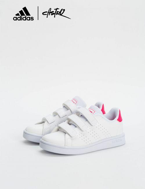 נעלי Adidas לבן ורוד / ילדות