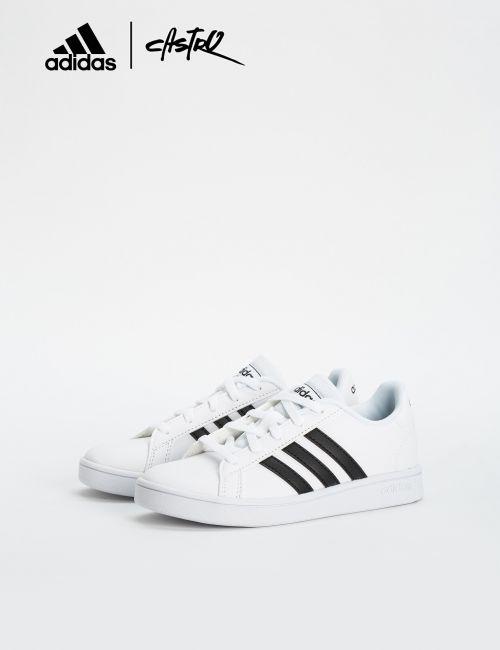 נעלי Adidas לבן ושחור / ילדים