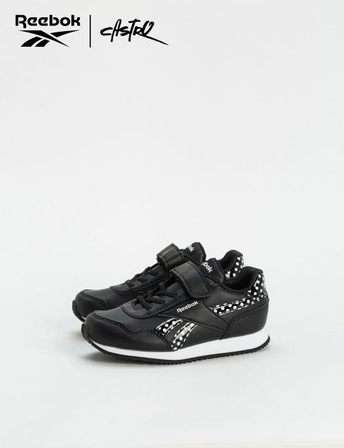 נעלי Reebok שחור נקודות - מידות קטנות