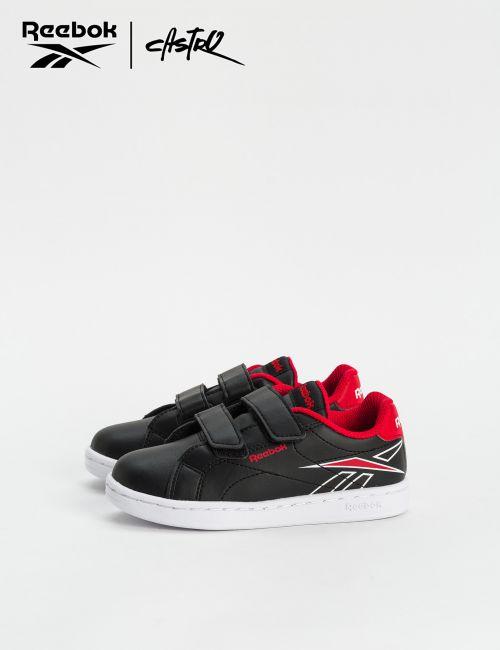 נעלי Reebok שחור ואדום / ילדים