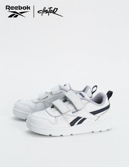 נעלי Reebok לבן וכחול - מידות קטנות