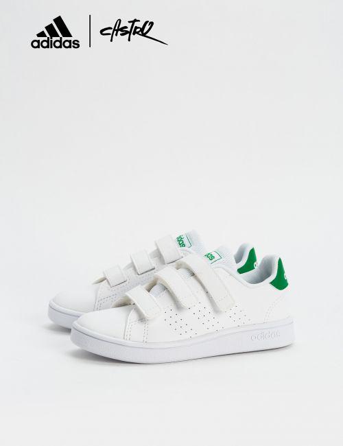 נעלי Adidas לבן וירוק / ילדים
