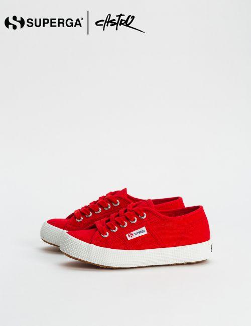 נעלי Superga אדומות / ילדות