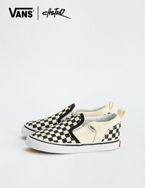 נעלי Vans משבצות שח מט - מידות קטנות