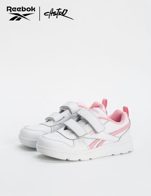 נעלי Reebok לבן ורוד - מידות קטנות