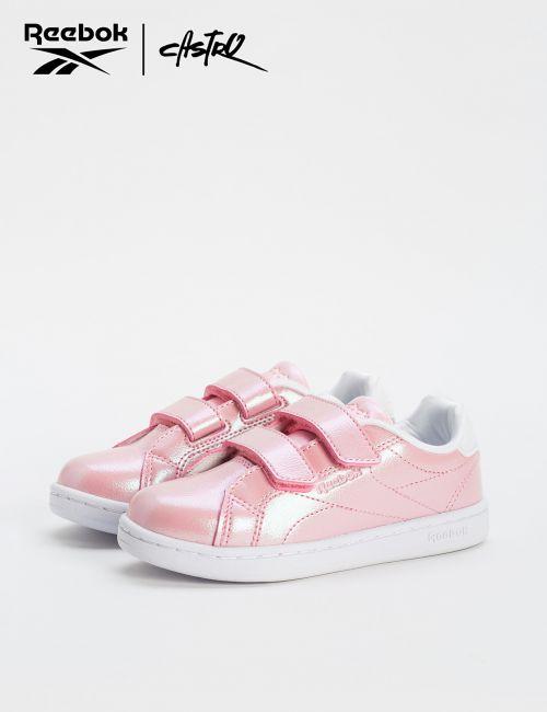 נעלי Reebok ורודות מבריקות / ילדות