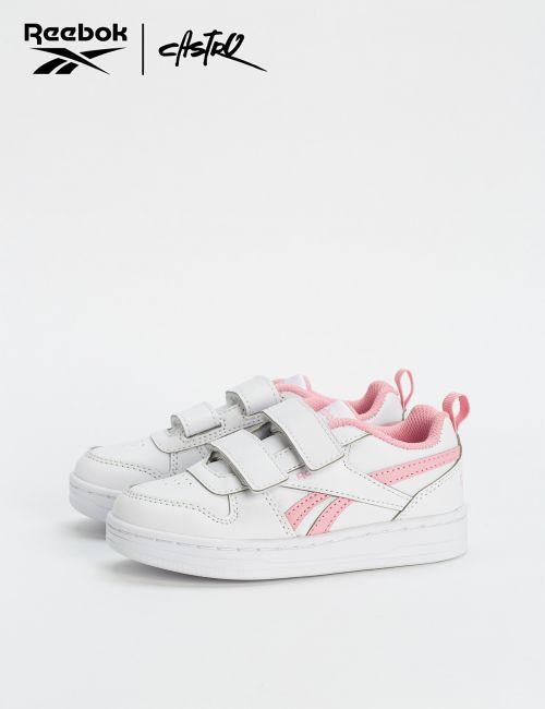 נעלי Reebok לבן ורוד / ילדות