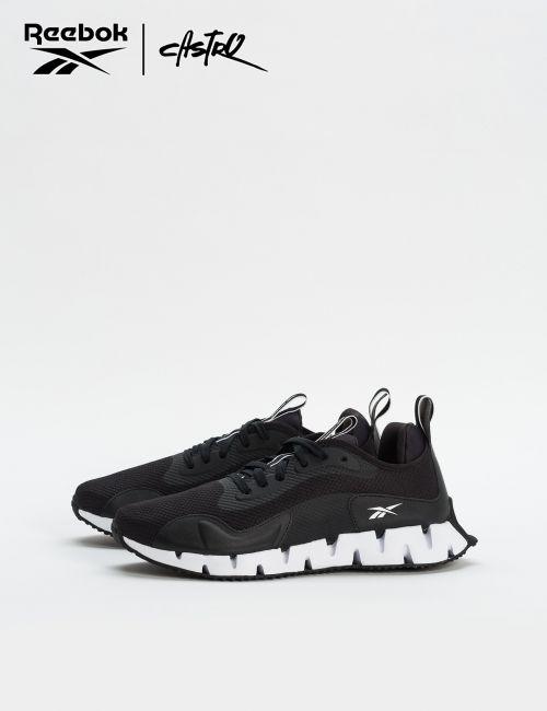 נעלי Reebok שחורות סוליה עבה / גברים